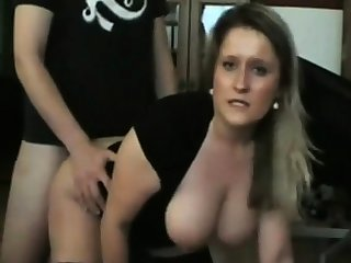 Amateur German BBW Sucks together with Fucks with Anal Creampie