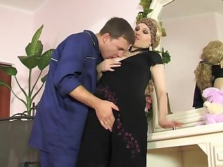 Mind-Sucking Sodomy Fuck-A-Thon And Facehole Jizz Flow Up Mature Flattie
