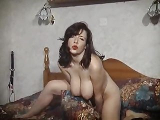 BEDROOM STRIPTEASE - vintage British big tits