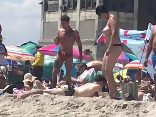 Rockaway Beach Fort Tilden NY Voyeur Beach Tits 2019