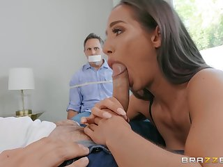 Wife sucks dicka nd fucks vanguard of husband