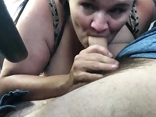 Sucking Cock In Be passed on Car Wean away from A Real Hooker