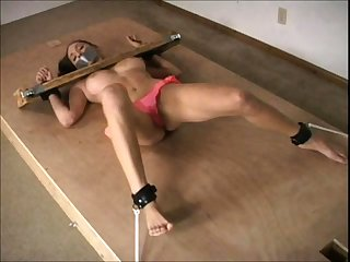 Detainee brunette slut takes BDSM treatment