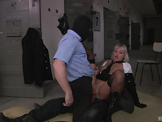 Kinky MFM threeway fuck for fabulous rapscallion Nataly D'angelo