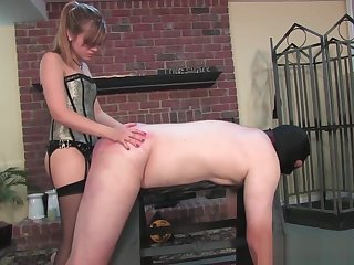 Fisting and strap-on submission