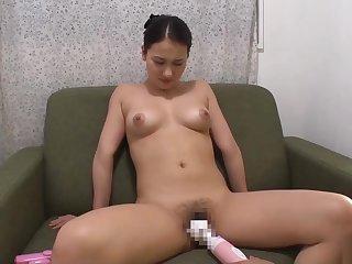 Asian, Big tits, Brunette, Dildo, Japanese, Tits