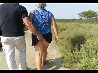 Older French couple fucking in the homeland