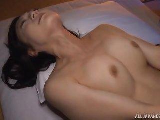 Asian girl Nagasawa Azusa fingered and fucked by say no to lover