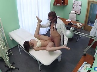 Doc pulls carnal knowledge toy immigrant tight pussy